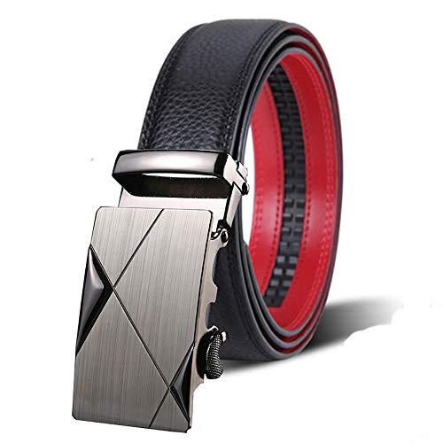 da cm in metallo con da uomo 125 Lllm Cintura Cintura da jeans uomo fibbia 110 cm Cinture dBqwgg