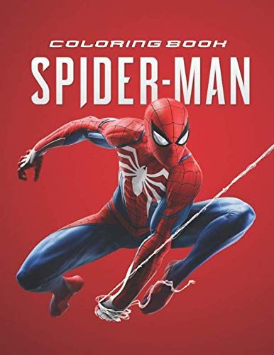 Spider-Man Coloring Book: Great Coloring Book for Kids and Adults (Children Age 3-12+)]()