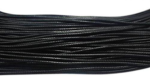 [해외]패션 50 PC 검은 꼰 가죽 코드 밧줄 목걸이 체인 랍스터 클로 버클 2.0 mm/Fashion 50Pcs Black Braided Leather Cord Rope Necklace Chain with Lobster Claw Clasp 2.0mm