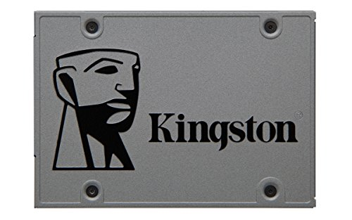 Kingston SUV500B/120G UV500 Desktop/Notebook Upgrade Kit - Solid State Drive - Encrypted - 1.92 TB - Internal - 2.5 (in 3.5 Carrier) - SATA 6GB/S - 256-Bit AES - Self-Encrypting Drive