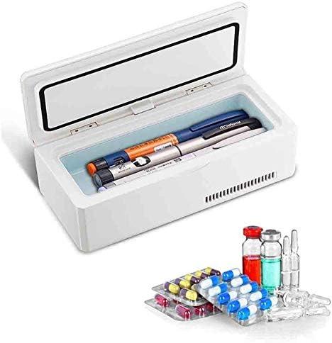 JL Insulinkühler Fall Arzneimittel Kühlschrank mit konstanter Temperatur Halten Sie 2-8 ℃ für 12 Stunden Medikamente kühl und Thermostat