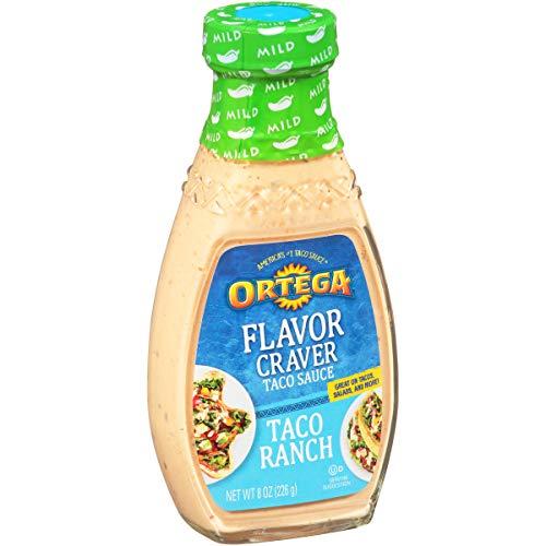 Ortega Flavor Craver Taco Sauce, Ranch, 8 oz