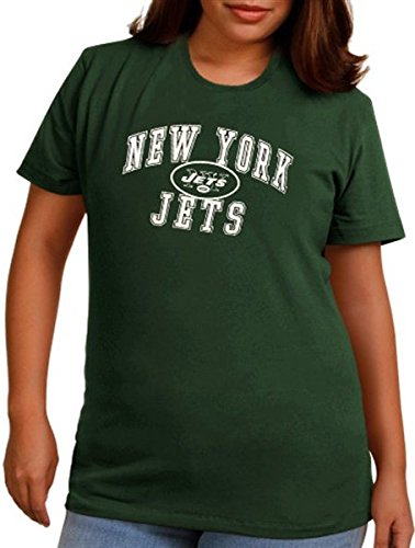 84f55a20 Amazon.com : York Jets NFL Team Apparel Women's Forward Progress ...