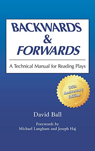 Pdf Arts Backwards & Forwards: A Technical Manual for Reading Plays