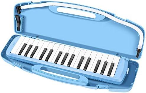 [해외]NEUMA 건반 하 모니카 32 키 련 황동 베이스 블루 (이름 씰) / NEUMA Keyboard Harmonica 32 Key Purified Brass Base Blue (with Name Seal)