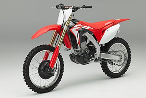 Orange Cycle Parts Die-Cast Replica Toy Red 1:12 Scale Model Honda CRF 450R Dirt Bike by NewRay 57873