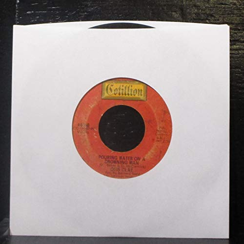 pouring water on a drowning man / blank 45 rpm single