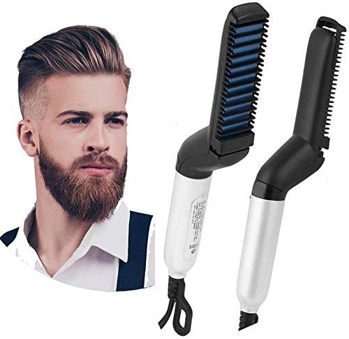 HARISWARUP HS-STORE's Multifunctional Hair Comb Brush Beard Straightener Hair Straightening Comb Quick Hair Beard Care…