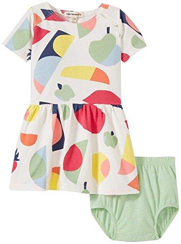 Appaman Melrose Dress/Diaper Cover Set, Parfait, 12/18 Months by Appaman