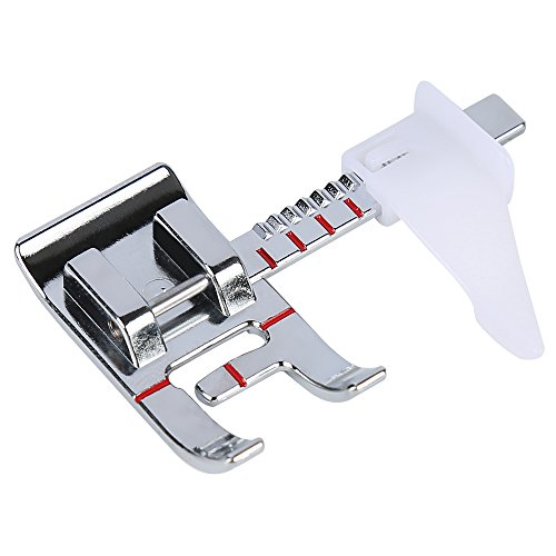 Best Prices! Smart H Adjustable Guide Sewing Machine Presser Foot. Fits for Low Shank Domestic Sewin...