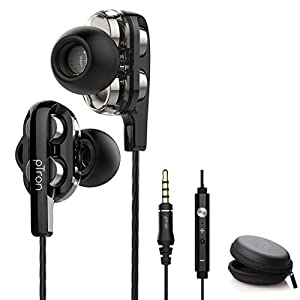 pTron Boom Ultima 4D Dual Driver, in-Ear Gaming Wired Headphones with in-line Mic, Volume Control & Passive Noise…