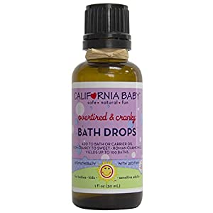 California Baby Essential Oil Bath Drop – Overtired...