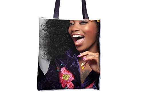 bags bag totes tote Laugh professional bags tote popular large popular tote professional allover Black printed bags bags Color Smile best large best totes womens' tote tote TwX6T4
