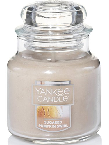 - Yankee Candle Sugared Pumpkin Swirl Small Jar Candle, Food & Spice Scent