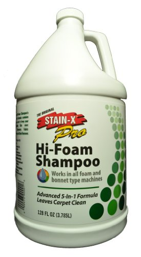 Stain-X Hi Foam Carpet Shampoo 1 gallon