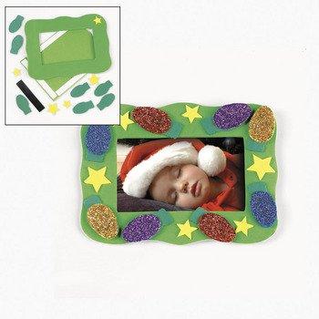 Christmas Bulb Photo Frame Magnet Craft Kit - Crafts for Kids & Photo Crafts
