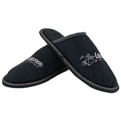Bertels Textilhandels GmbH - Zapatillas de estar por casa para hombre Gris gris Gris - gris