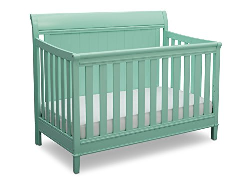 - Delta Children New Haven 4-in-1 Convertible Baby Crib, Aqua