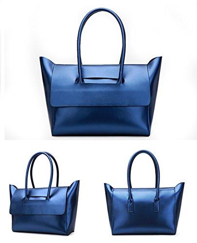 Blue 579 Borsa Nuclerl A oro Handbag Donna Gold Mano 8Z0qZRg