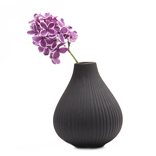 Chive Frost Round Clay Pottery Flower Vase Decorative Vase For