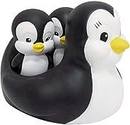 Brinquedo para Bebe Pinguim Mae para Banho, Pais e Filhos,  Multicor, Pacote de 1