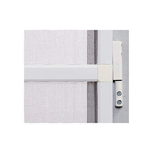 Moustiquaire porte battante porte USA L100 cm x H 220 cm Blanc