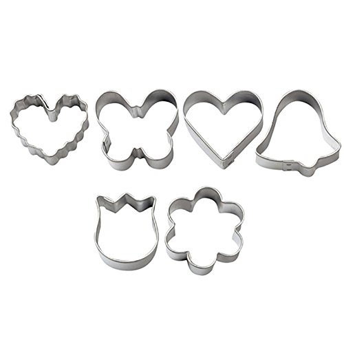 Wilton Mini Romantic Metal Cookie Cutter (Wilton Industries Cookie Cutters)