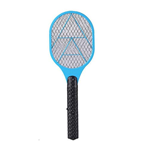 CloverUS Handheld Electric Tennis Racket Battery Powered Electric Mosquito Swatter