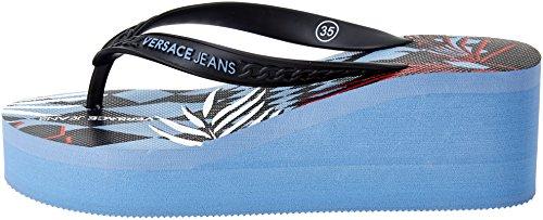 Versace Jeans Damen Ee0vrbsl2 Zehentrenner Multicolore (Multicolore/Fantasia)