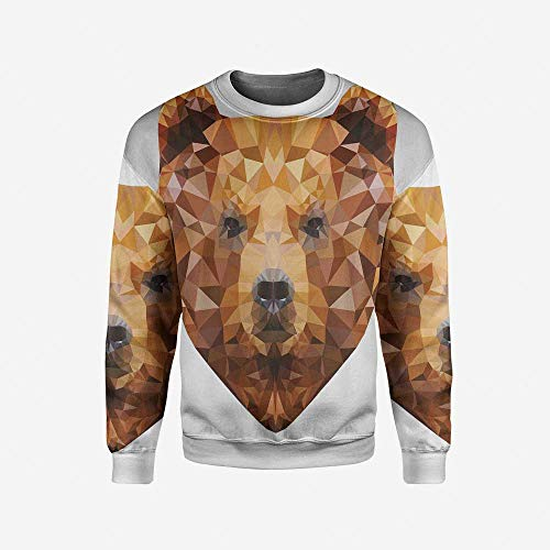 iPrint Men's Crewneck Mexican Decorations Pullover Sweater by iPrint