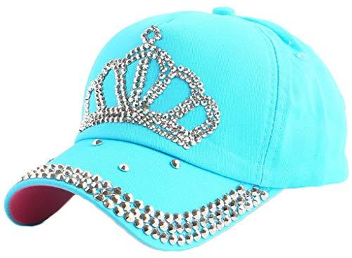 LONIY Brand Rhinestone Star Hip hop for Children Child 4-12 Year boy Girl Summer Outdoor Baseball Cap -