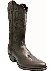 Twisted X Womens Burgundy Western Cowgirl Boot Round Toe - Wwt0034
