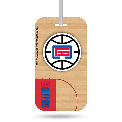 Rico Industries NBA Los Angeles Clippers Plastic Team Luggage - Los Rico Clippers Angeles
