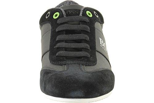 Hugo Boss Mens Lichtere Sneakers Sneakers Schoenen Zwart