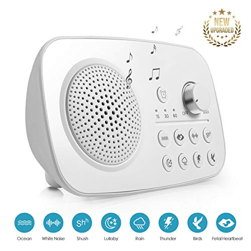 White Noise Machine, 2018 Upgraded Sleep Relax Sound Machine