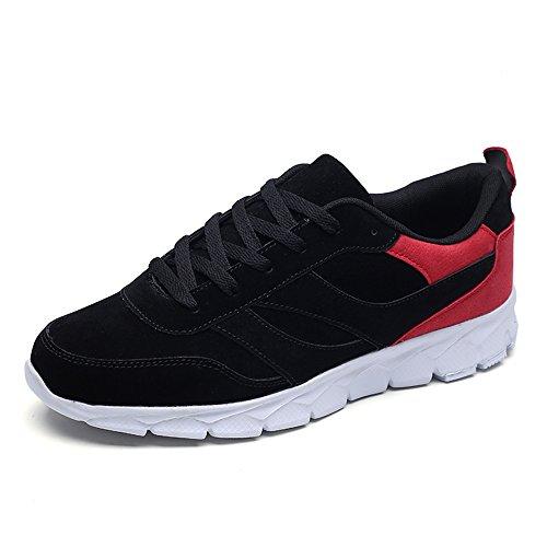 Men's Shoes Feifei Spring and Autumn Leisure Fashion Sports Shoes 3 Colors (Color : 01, Size : EU39/UK6.5/CN40)