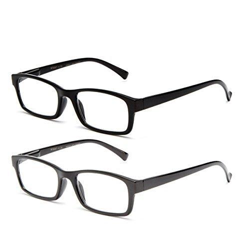 Simple Nerdy Clark Kent Basic Design Spring Temple Clear Lens Glasses Slim Frame