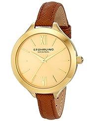 Stuhrling Original Women's 975.03 Vogue Analog Display Quartz Beige Watch