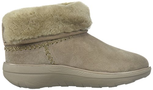 Fitflop Mukluk Shorty 2 Boots - Bota de mujer, color marrón