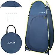 TRATHM Camp Shower Tent Pop Up Changing Tent Privacy Shelter for Portable Toilet & Bath