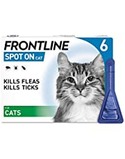 Frontline Spot On Flea and Tick Treatment for Cats 6 Pipettes