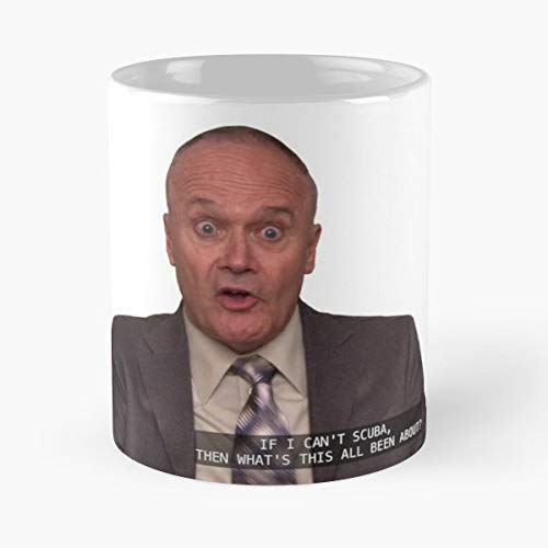 The Office Creed Bratton Scuba Diving - Funny Gifts For Men And Women Gift Coffee Mug Tea Cup White 11 Oz.the Best Holidays.
