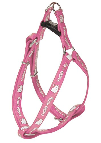 Hello Kitty Leatherette Adjustable Bib, 46-75 cm x 20 mm, Pink ()