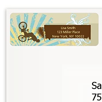 amazon com bmx rider birthday party return address labels health