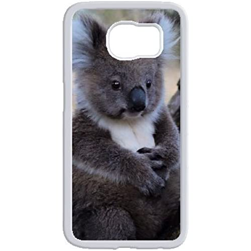 Exquisite Sleepy Koala image from creative fashion phone shell custom mode, in order to better protect your phone trend( White samsung galaxy s7 edge ) Sales