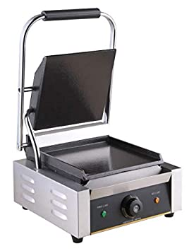 bhavya enterprises Commercial 18/10 Steel Panini Griller (Medium, Silver) Small Kitchen Appliances at amazon
