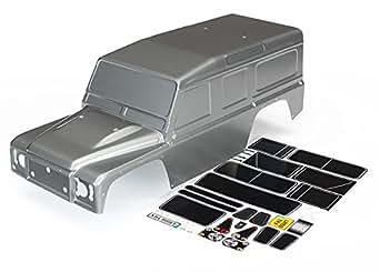 Traxxas Automobile 8011 X 1/10 Scale Land Rover Defender Body, Graphite Silver