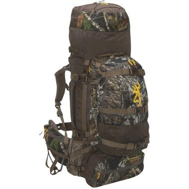 Browning Thunder Mountain ECR 62-Liter +12-Liter Backpack (Real Tree AP), Outdoor Stuffs