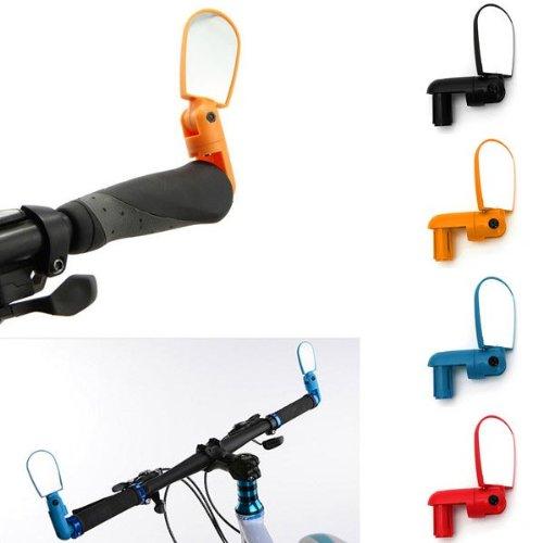 Bicycle Cycling Handlebar Rear View Glass Adjustable Bike Ba