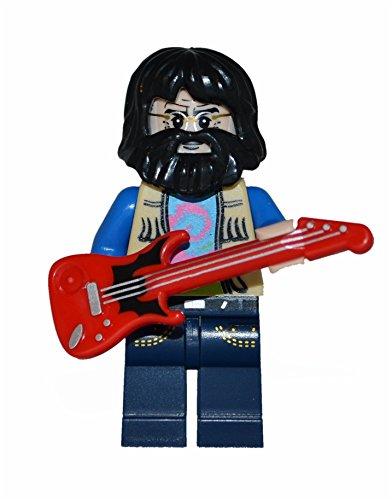 Jerry Garcia- Grateful Dead custom minifigure with guitar.